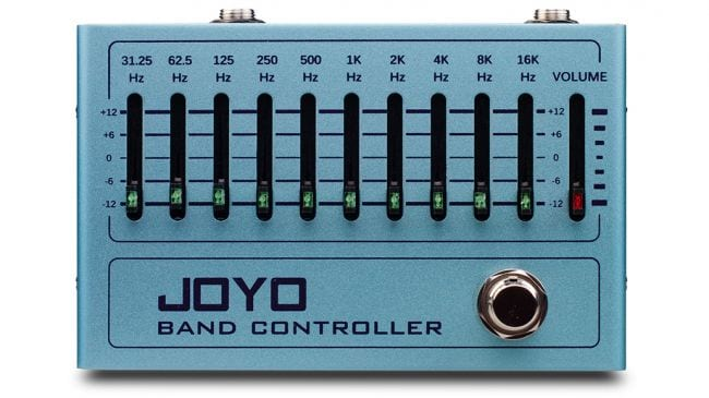 Joyo introduces R 12 Band Controller - 10-band graphic EQ pedal