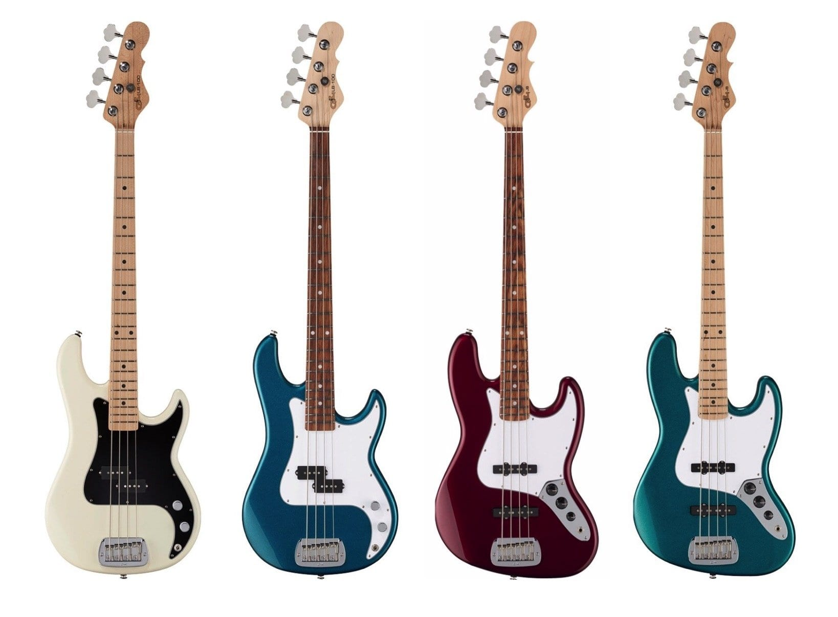 G&L LB-100 and the JB Bass models