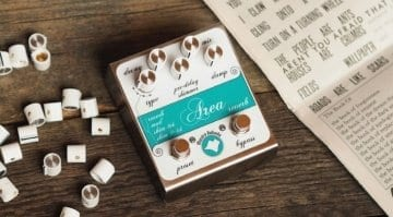 Mastro Valavola announces Area Multi Reverb MkII pedal