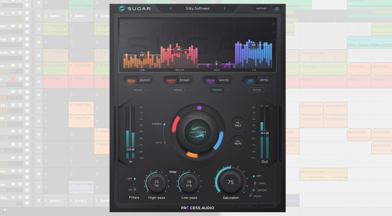 PROCESS AUDIO Sugar: A new all-in-one sweetener plug-in for