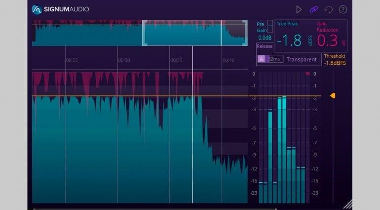 Signum Audio BUTE Limiter