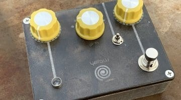 Spiral Electric FX - Yellow Spiral Drive by Tom Cram