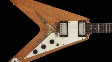 The Kinks-Dave Davies 1958 Gibson Flying V Korina