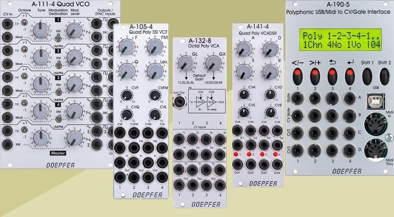 Doepfer Polyphonic range