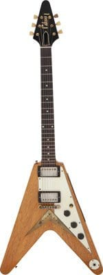 The Kinks-Dave Davies 1958 Gibson Flying V Korina