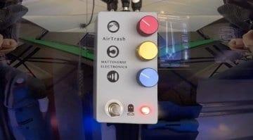 AirTrash pedal fuzz Mattoverse Electronics
