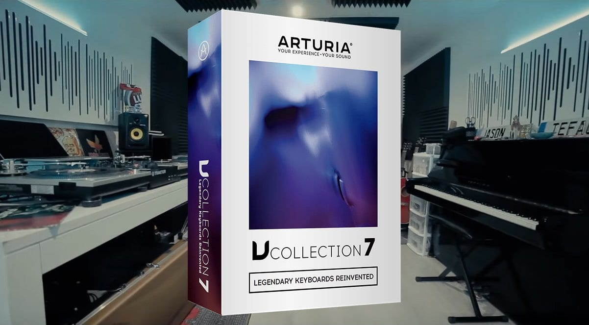 Arturia V Collection 7 adds 3 new instruments: CZ V, Synthi