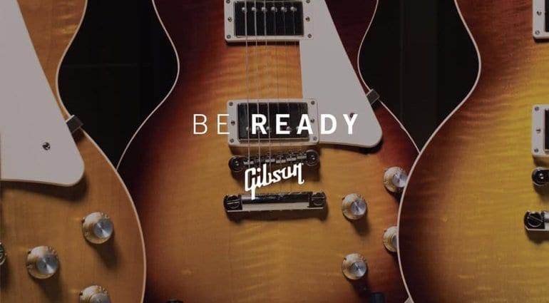 Gibson launches countdown to new electric guitar models