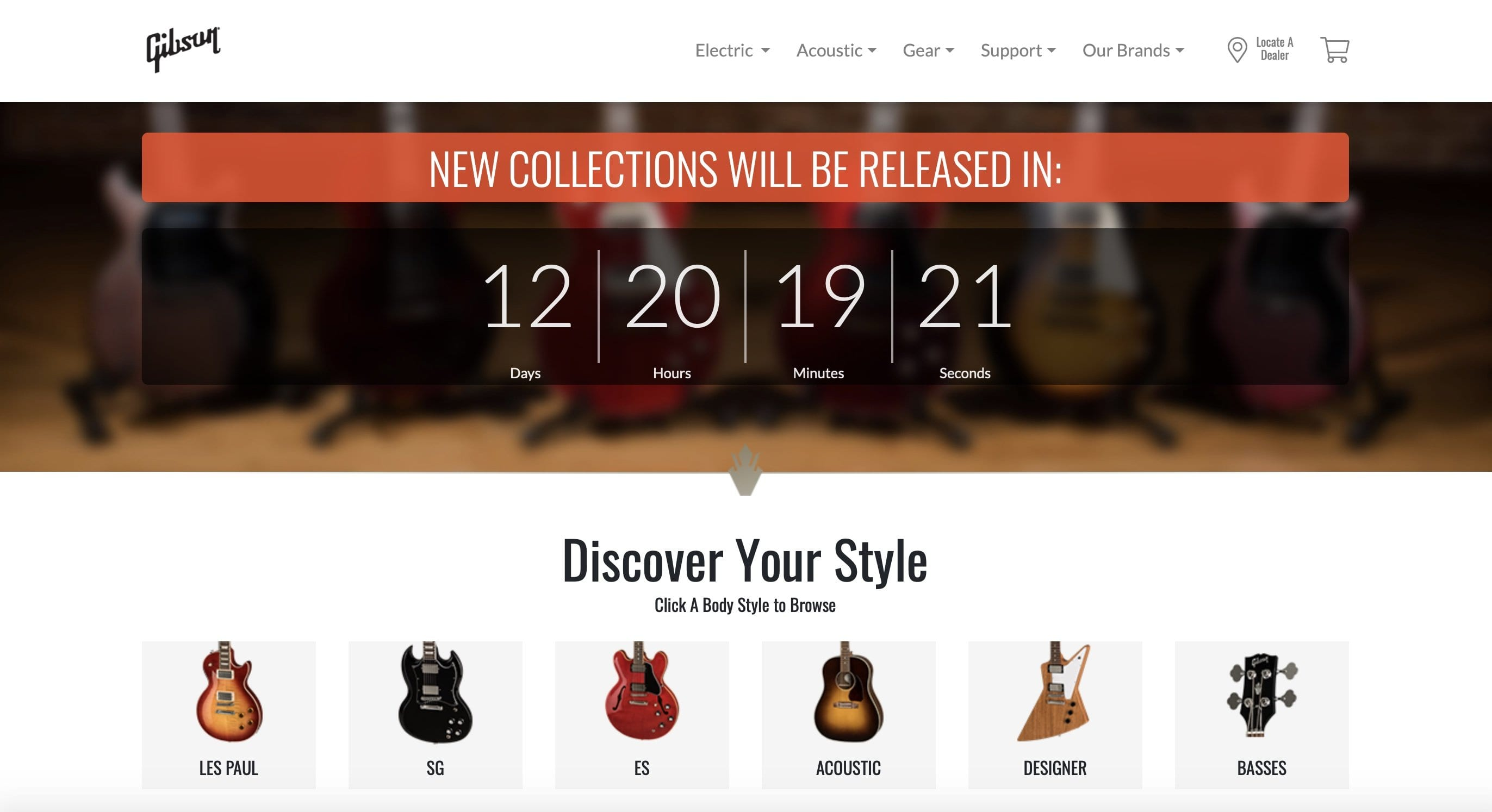 Gibson 'Be Ready' countdown!