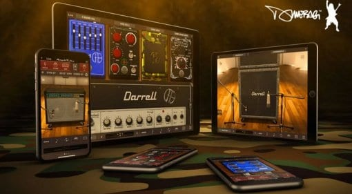 IK Multimedia Dimebag Darrell Cowboys From Hell Collection now on iOS