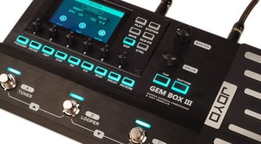 Joyo's new Gem Box III multi-fx pedal