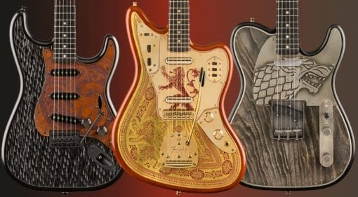 Fender Game of Thrones models
