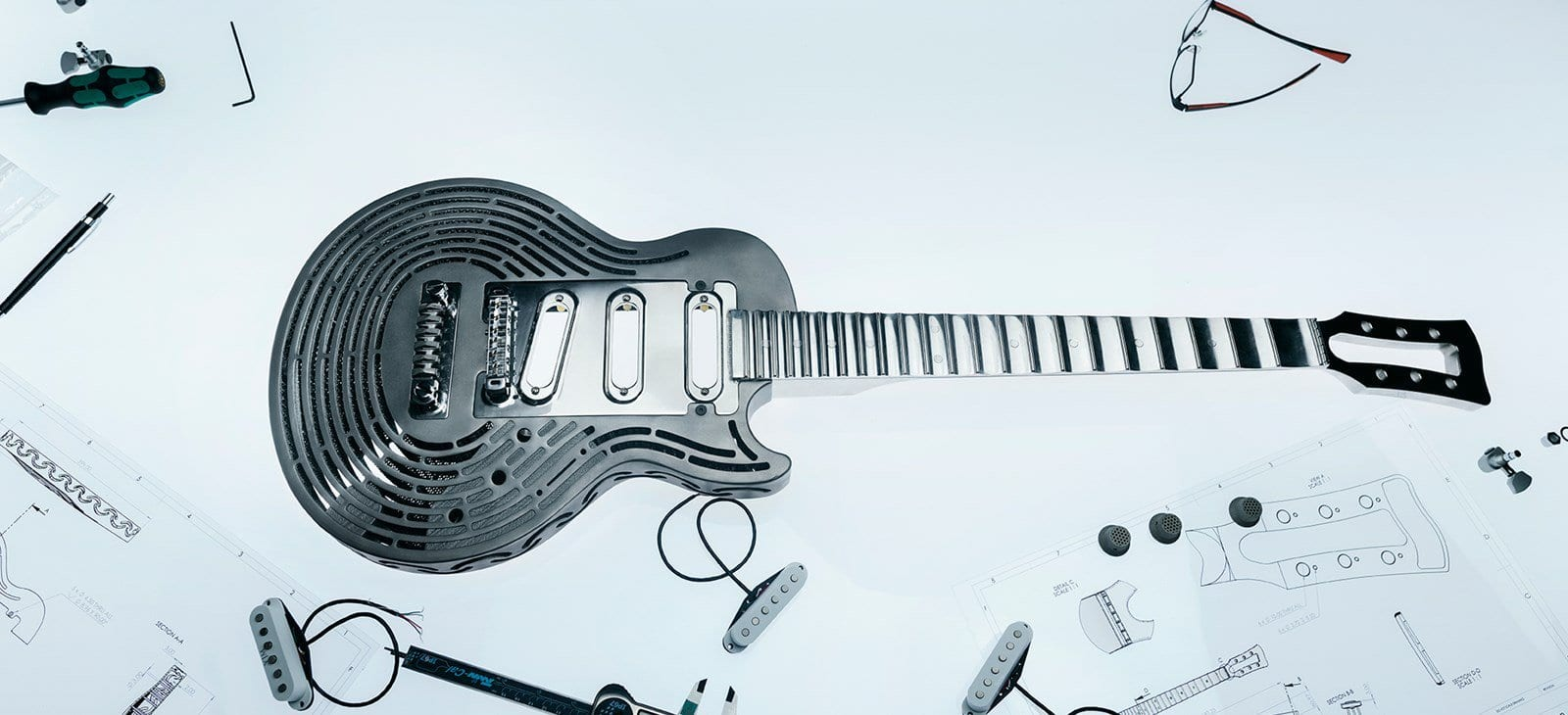 Sandvik has made the world's first smash-proof guitar!
