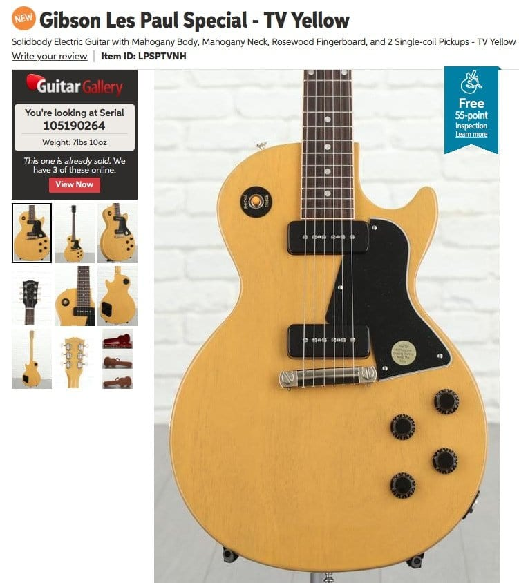 Gibson 2019 Les Paul Special
