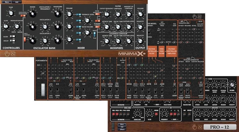 MakeProAudio Dino synths