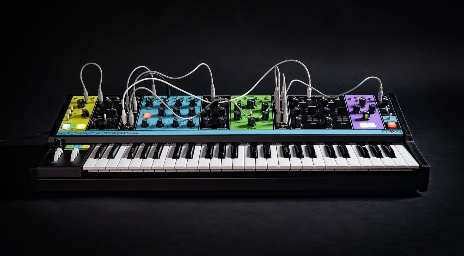 Akai MPC Forums - Moog Matriarch: Patchable 4-note
