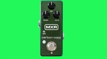 MXR Carbon Copy Mini pedal