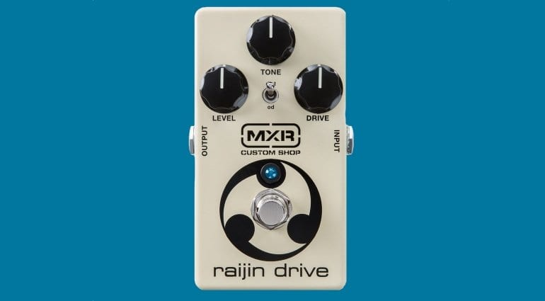 MXR Raijin Drive Overdrive and Distortion pedal