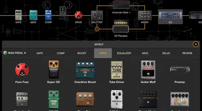 Free 48h trial version of BIAS FX Mobile iOS app for iPhone and iPad