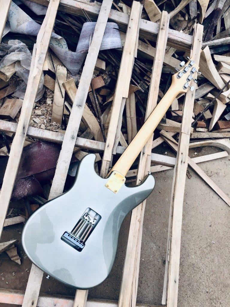 Beware these fake John Mayer Silver Sky guitars