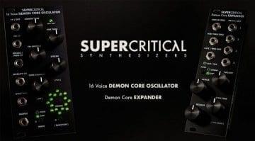 Supercritical Synthesizers Demon Core Oscillator