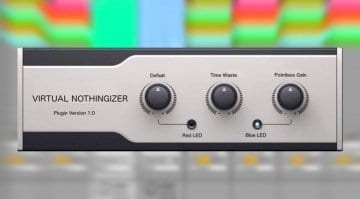 Virtual Nothingizer musical inspiration plug-in