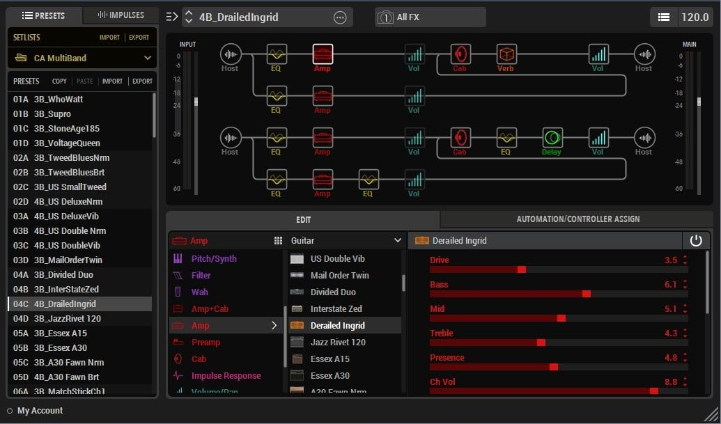 Craig Anderton's Amazing Multiband Helix Presets - Dynamic drives
