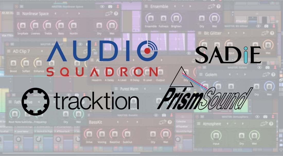 Tracktion teams up with Prism Sound, Sadie to form Audio Squadron