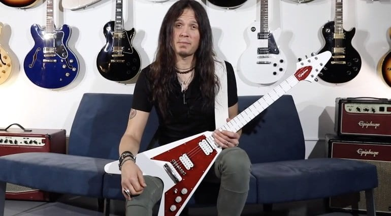 Epiphone Limited Edition Dave Rude Flying V