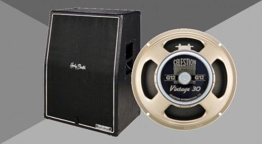 Harley Benton G212 Vertical Celestion Vintage 30