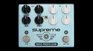 Mad Professor Supreme Overdrive pedal