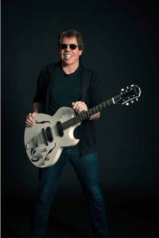 George Thorogood with his White Fang