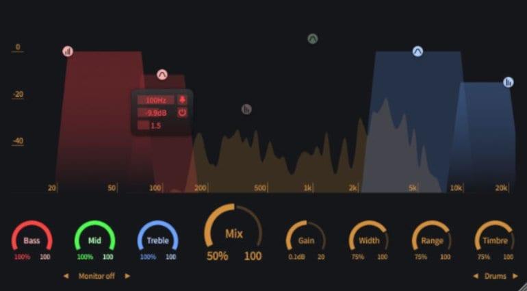 ToneBoosters Enhancer Plugin GUI