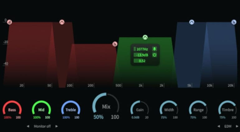 ToneBoosters Enhancer Plugin GUI2