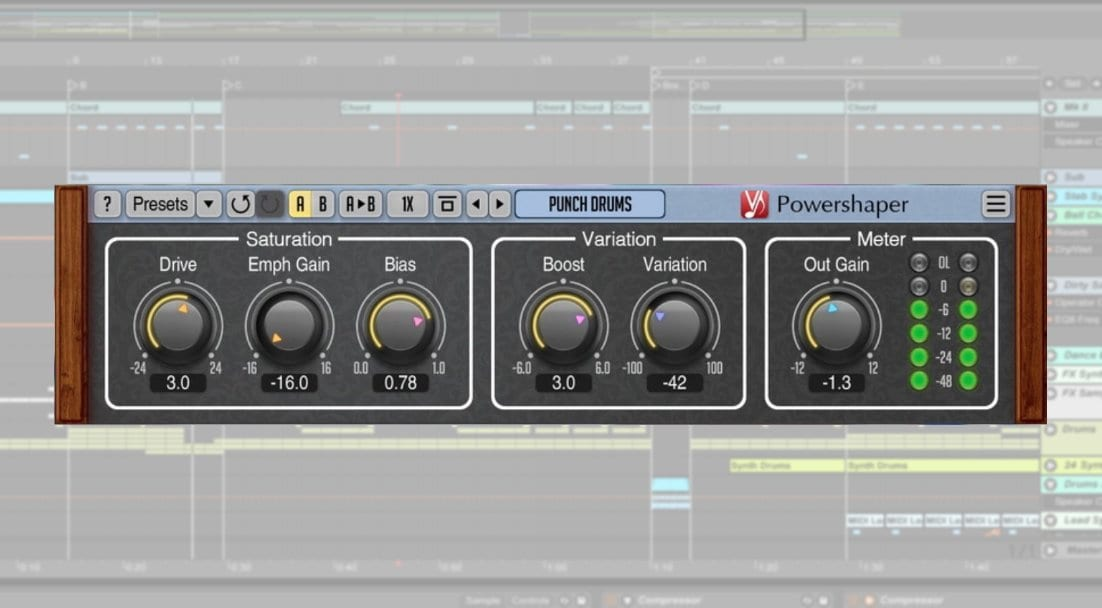 Voxengo Powershaper: Saturation and overdrive for your audio