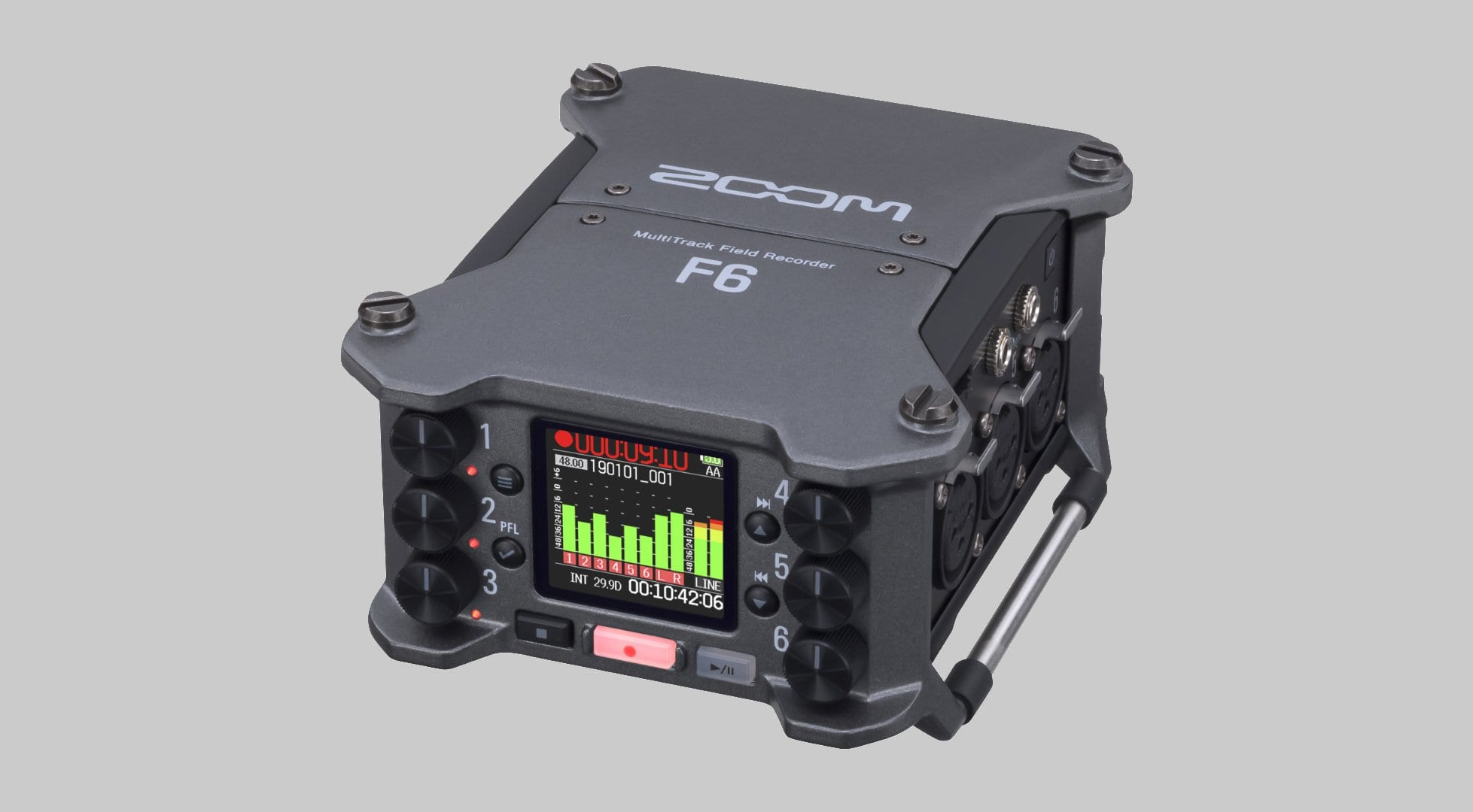 Zoom introduces the F6 multitrack field recorder - gearnews com