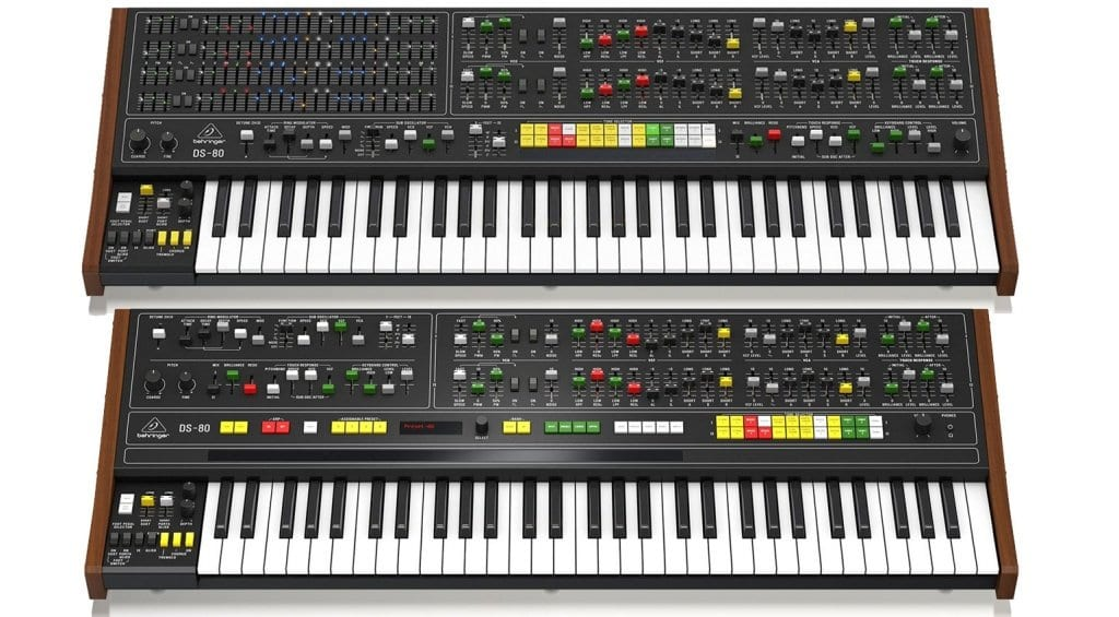 Behringer DS-80 comparison with first design