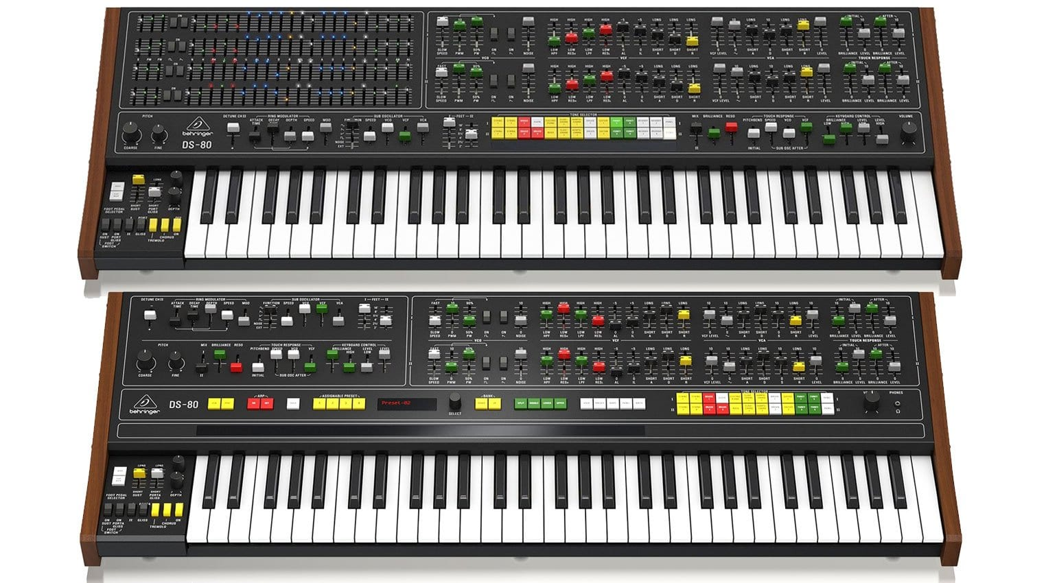 Behringer releases updated images of the developing DS-80 synthesizer