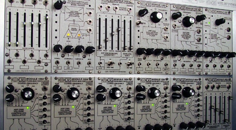 Discrete Synthesizers CMS Eurorack System