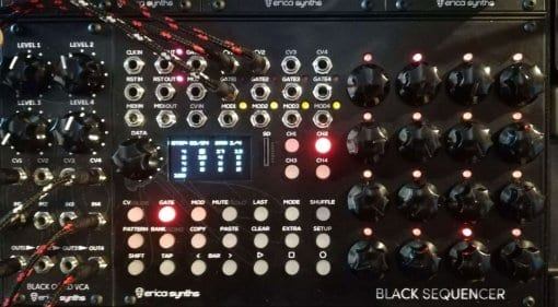 Erica Synths Black Sequencer