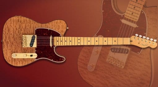 Fender Rarities Red Mahogany Telecaster