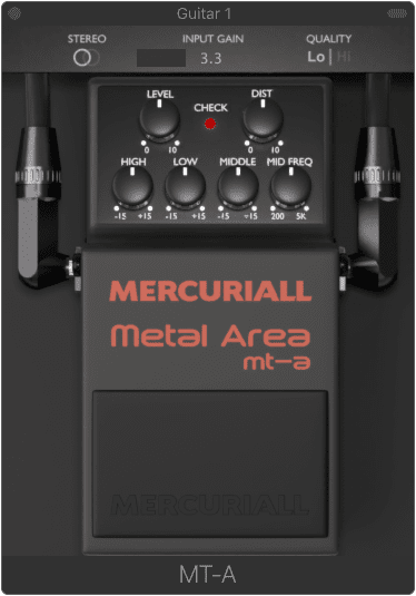 Mercuriall Audio MT 2