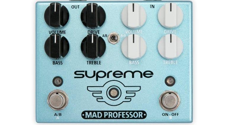 Mad Professor Supreme Overdrive pedal