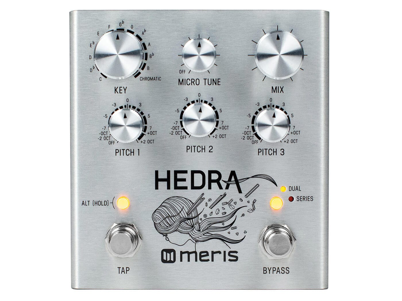 Meris Hedra - Classic '90s studio rack pitch shifting in a pedal!
