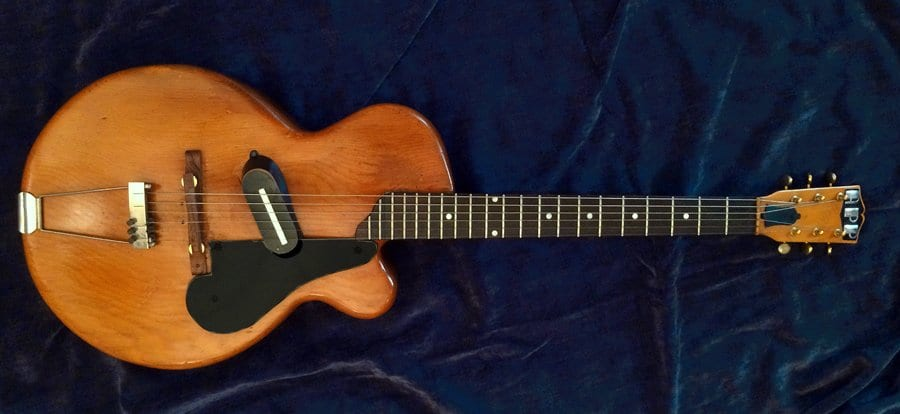 Did Gibson steal the Les Paul design? O W Appleton model from 1943