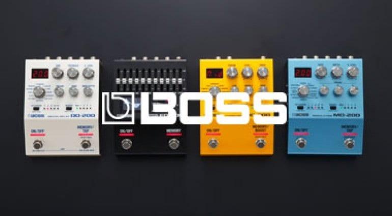 Boss Series 200 pedals