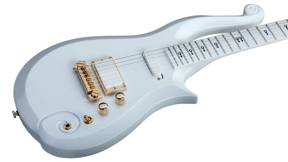 Prince Cloud Guitar in white
