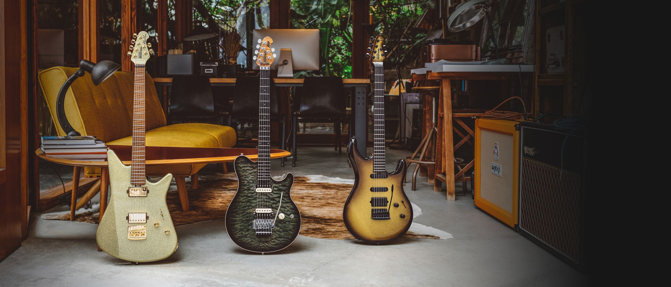 Ernie Ball Music Man reveals June Ball Family Reserve Collection