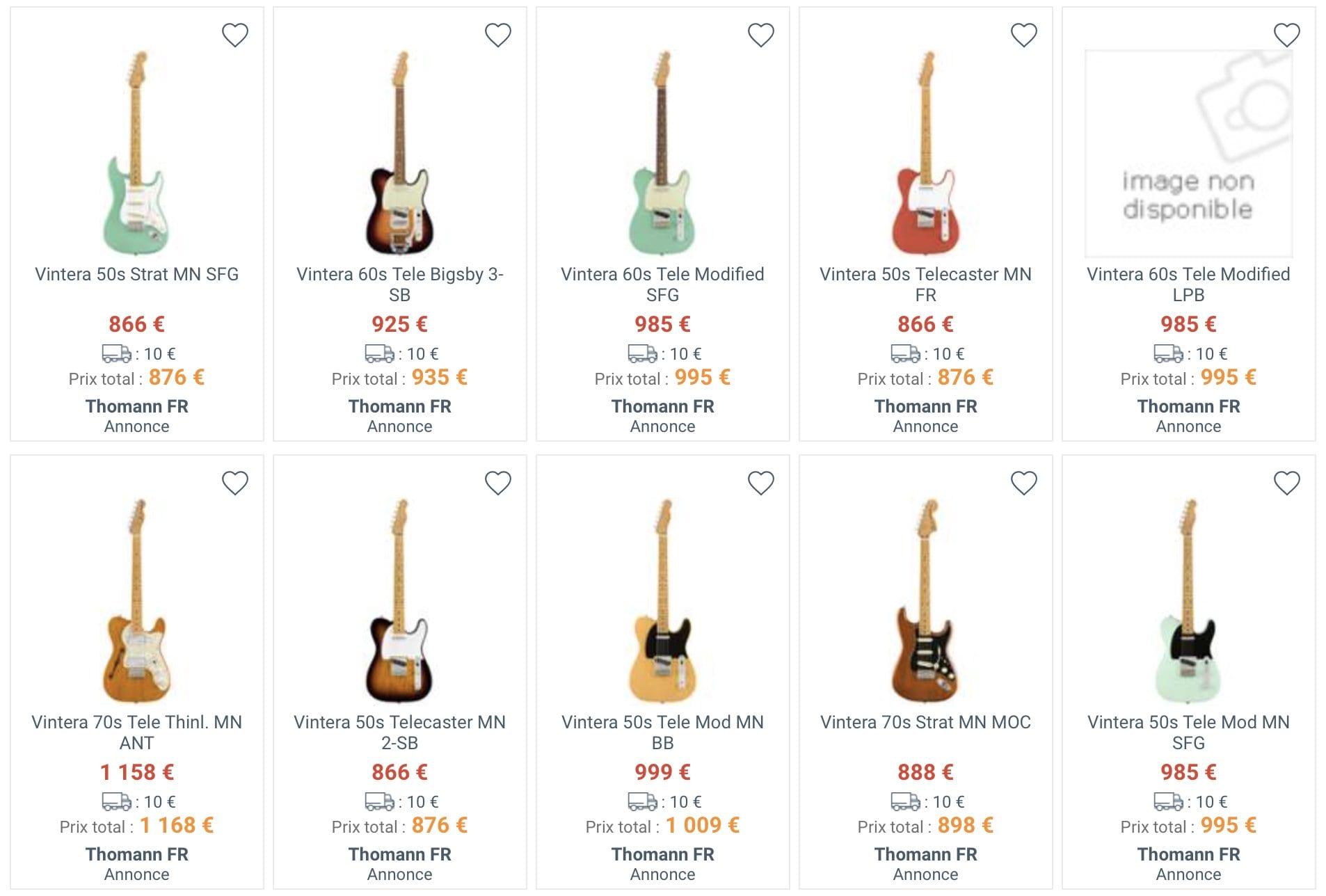 Fender Vintera: Stiamo per salutare Classic e Classic Player