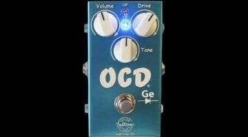 Fulltone CS-OCD-Ge overdrive pedal - The ultimate OCD?